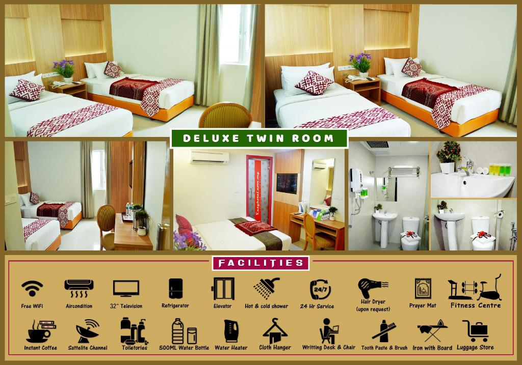 Deluxe Twin Room - Bedroom