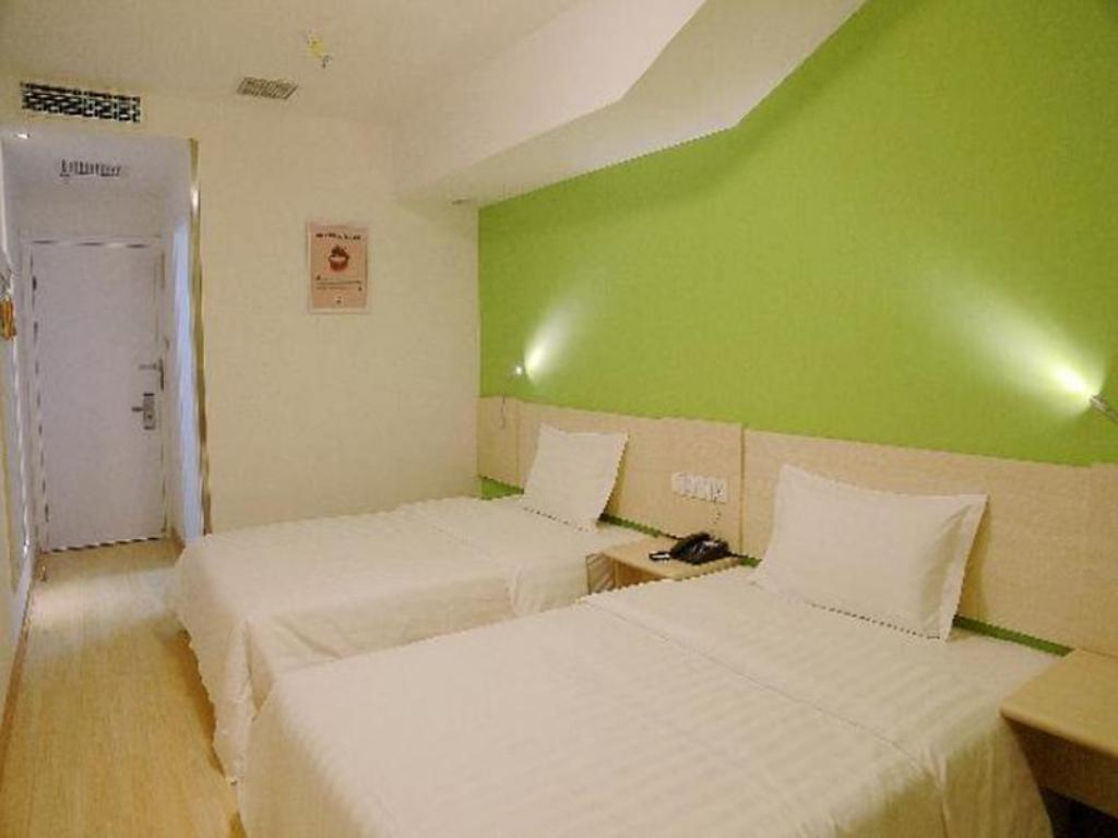 Twin Room - Domestic Residents Only 7 Days Inn Beijing Wangfujing Branch