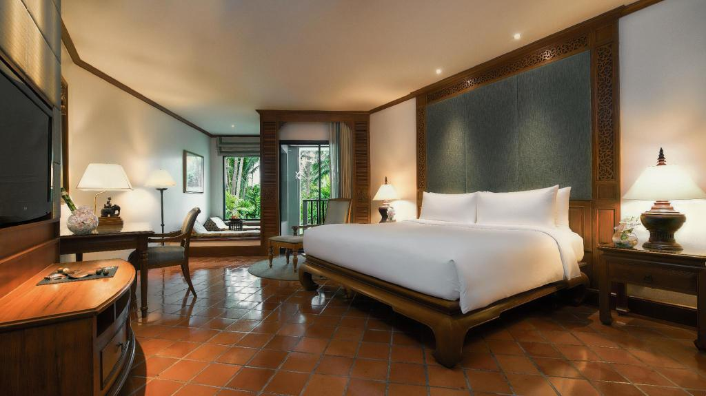 Deluxe, Guest room, 1 King, Garden view, Balcony - Plan cameră JW Marriott Phuket Resort & Spa