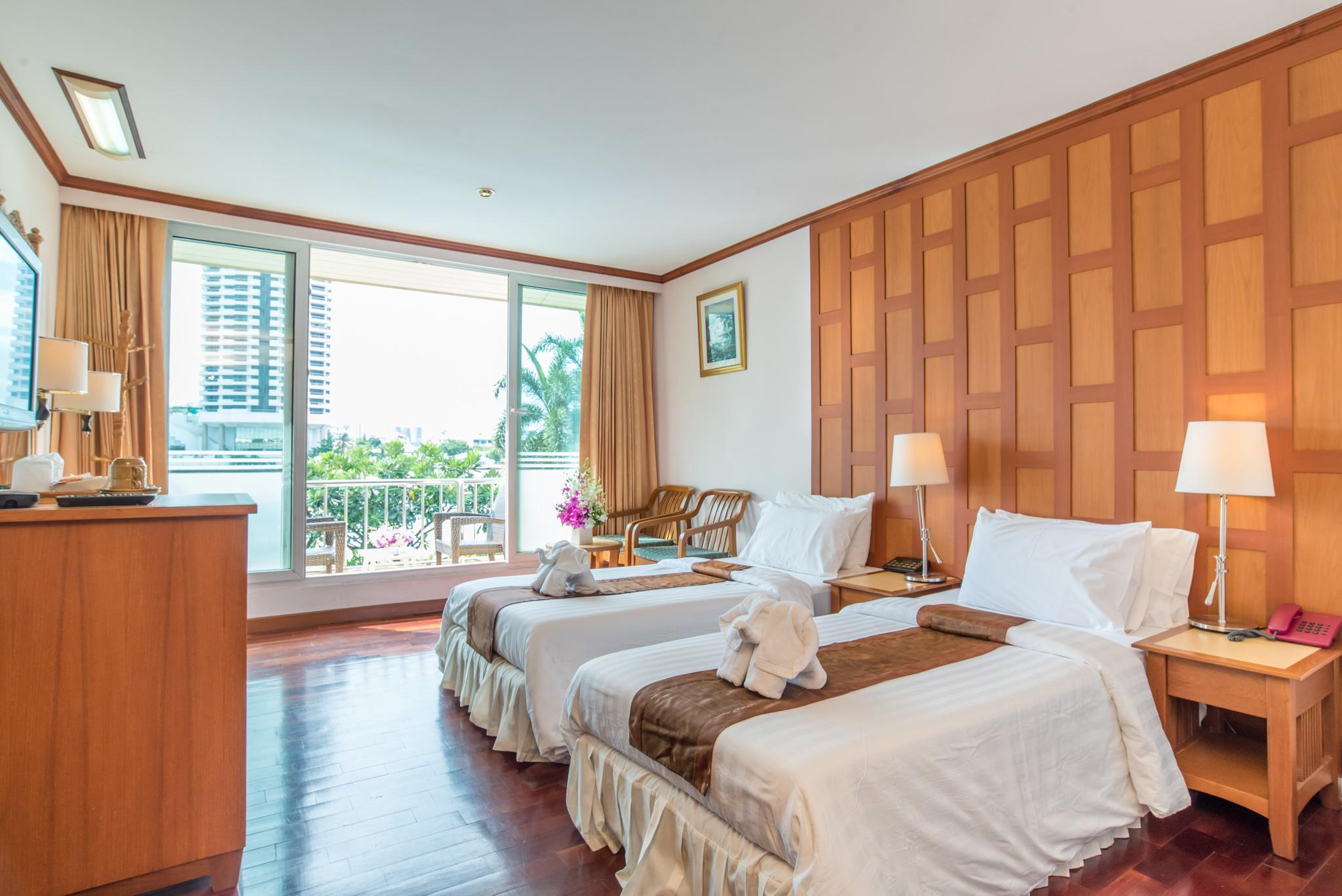Deluxe hướng sông 2 giường (Deluxe River View Twin)