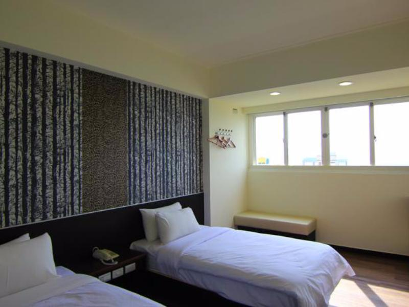 海景雙床房 (Twin Room with Sea View)