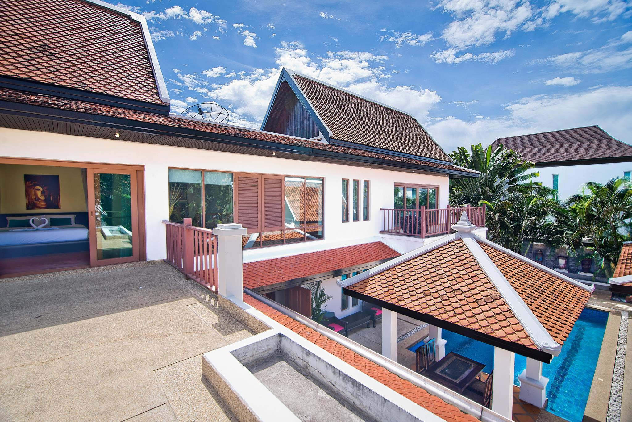 Willa z 5 sypialniami i prywatnym basenem – Na Jomtien 3 (5-Bedroom Villa Na Jomtien 3 with Private Pool)