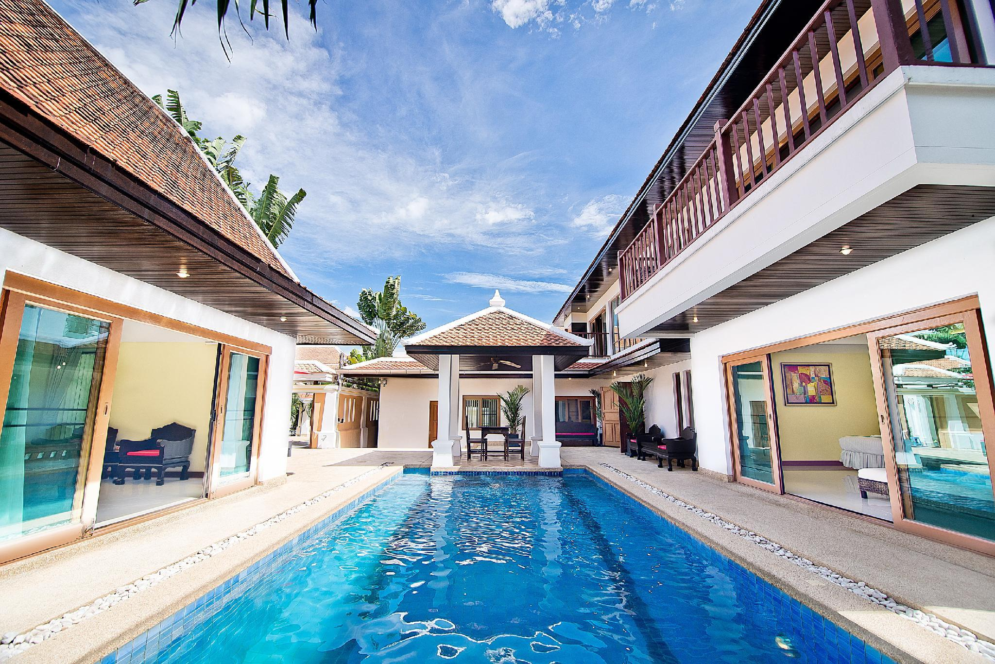 四臥室別墅Na Jomtien 3 - 有私人泳池 (4-Bedroom Villa Na Jomtien 3 with Private Pool)