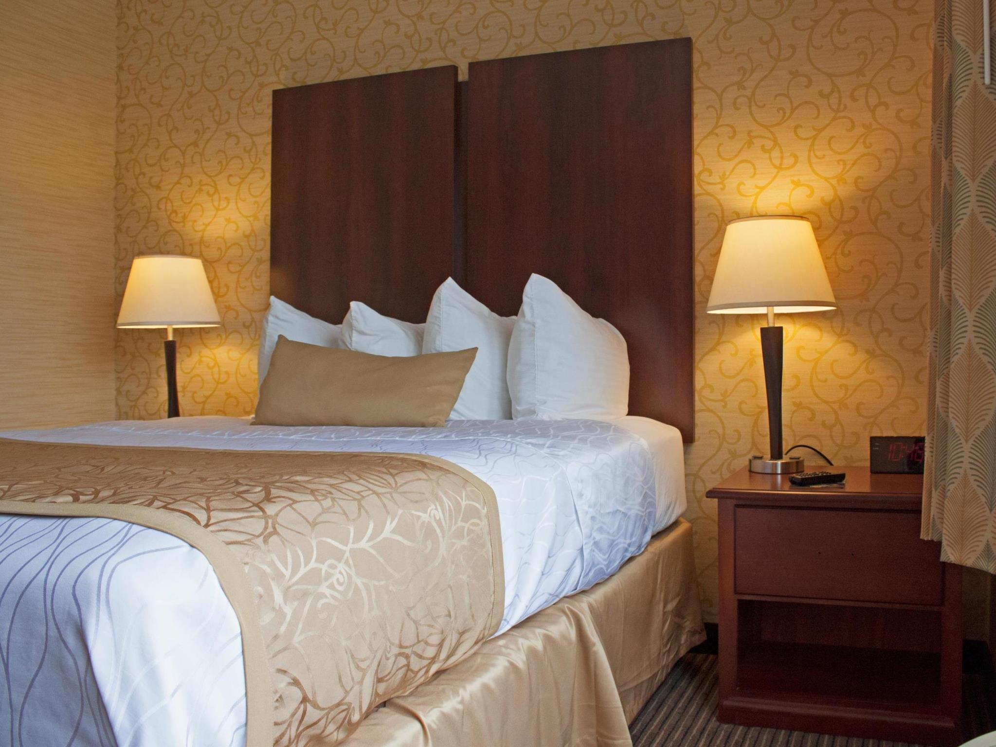 Suíte Deluxe com 1 cama Queen-size e sofá-cama - Não fumantes (Deluxe Suite with 1 Queen Bed and Sofabed - No Smoking)