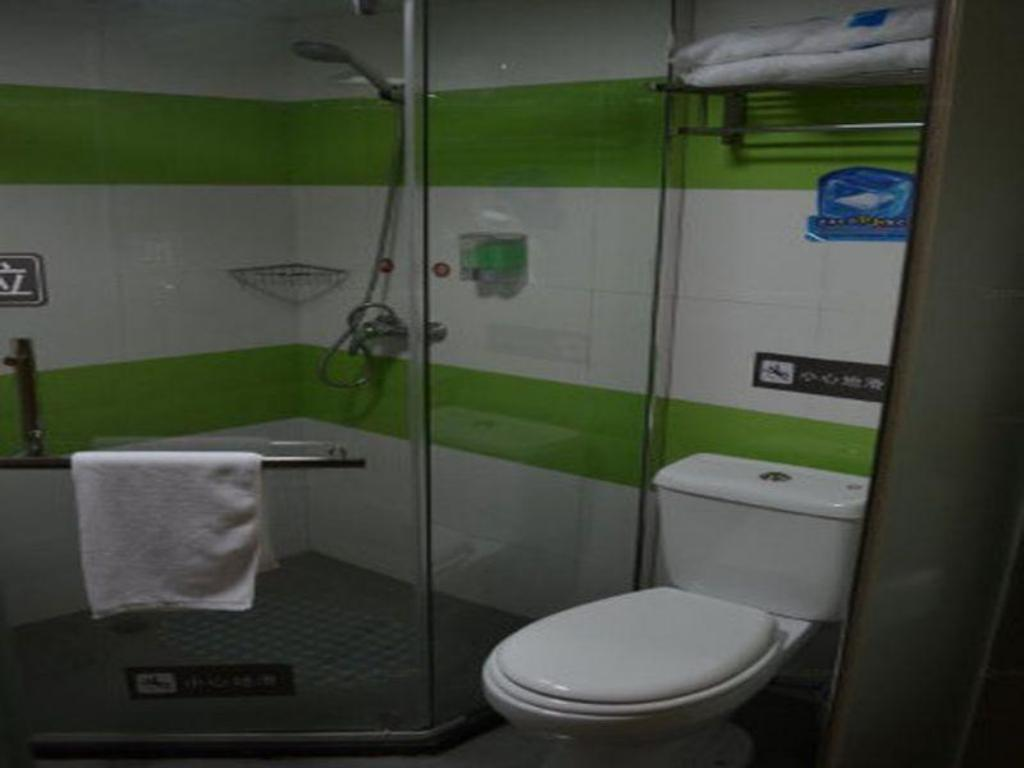 Badezimmer 7 Days Inn Hangzhou Xiasha Gaosha Road Subway Station Branch