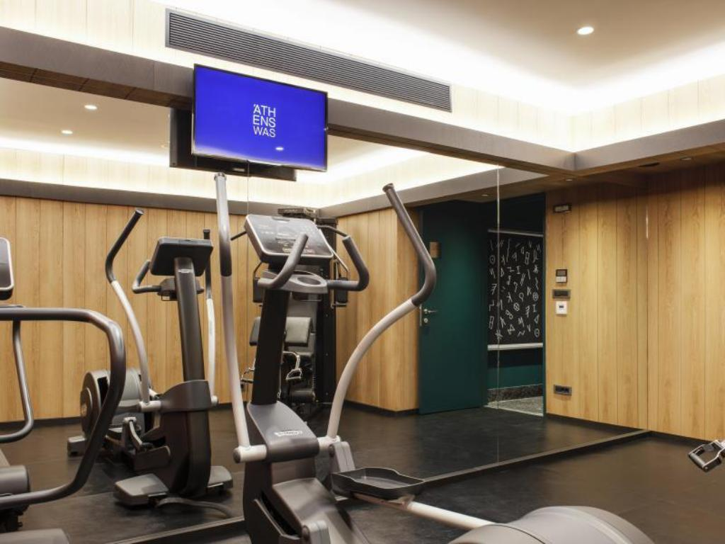 Fitness center AthensWas hotel