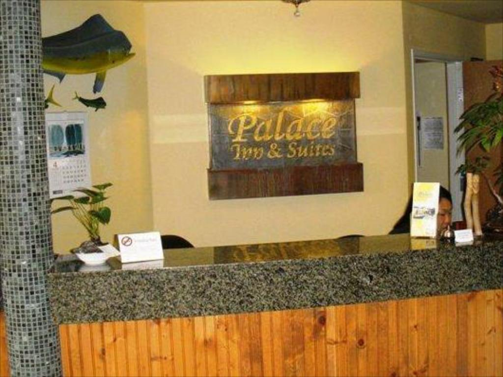 Reception Palace Inn & Suites Lincoln City