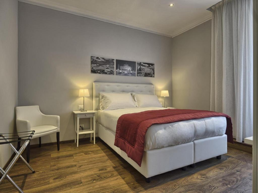 Double or Twin - Guestroom Star Vatican Rooms Rome