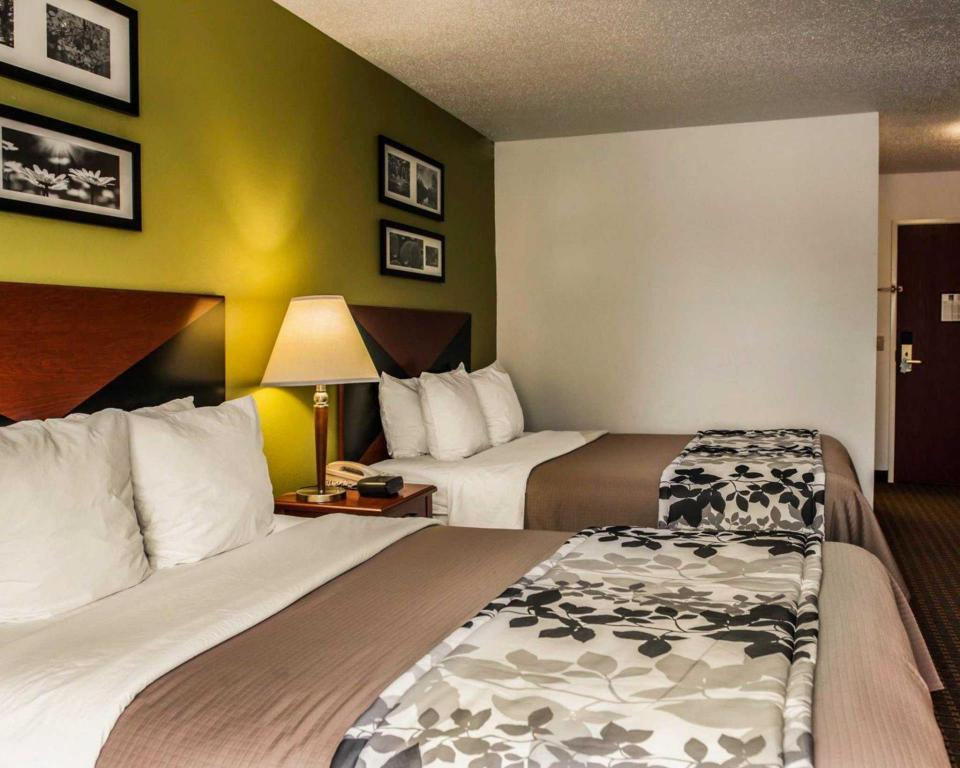 Queen Room with Two Queen Beds - Non-Smoking Sleep Inn