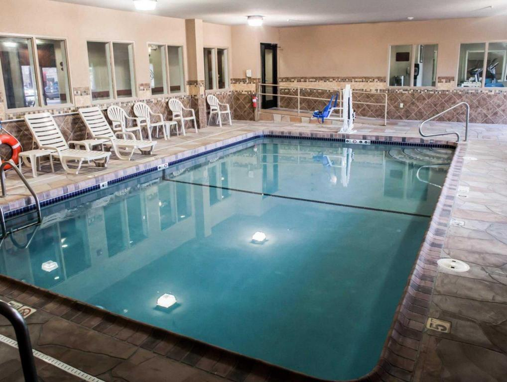Piscina Sleep Inn & Suites