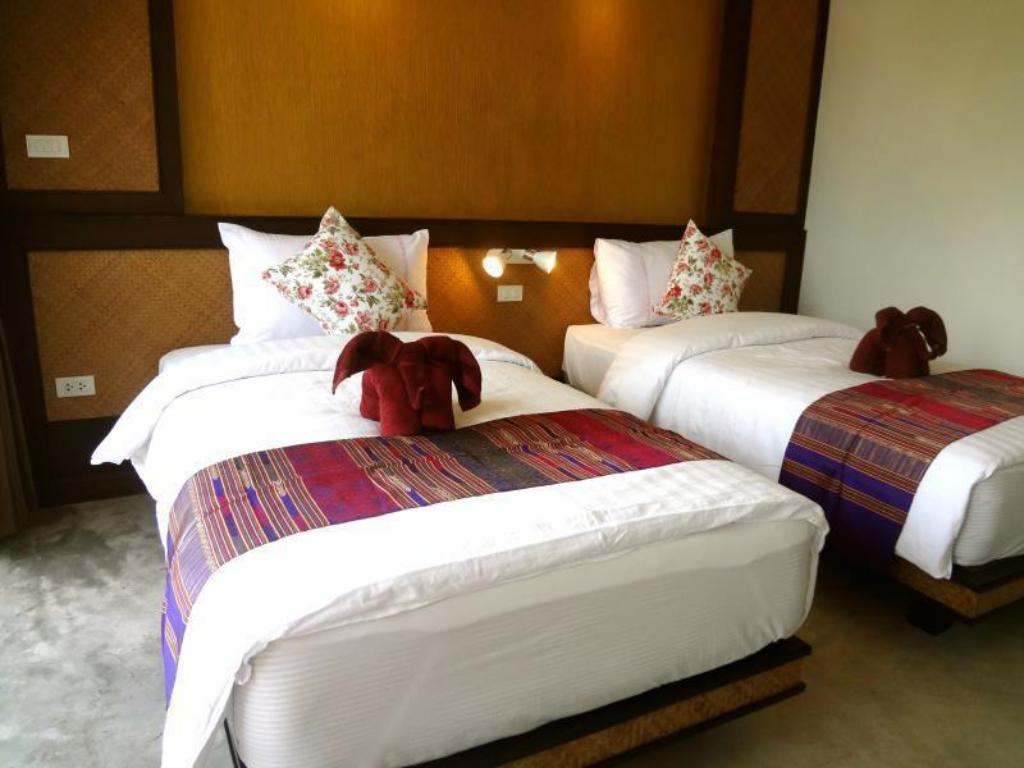 Deluxe Twin - 2 Single Beds - Bedroom Lanta For Rest Boutique Hotel