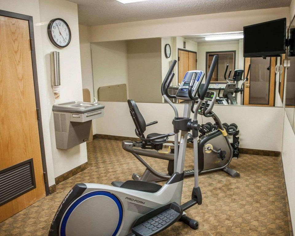 centre de fitness Econo Lodge Champaign Urbana - University Area