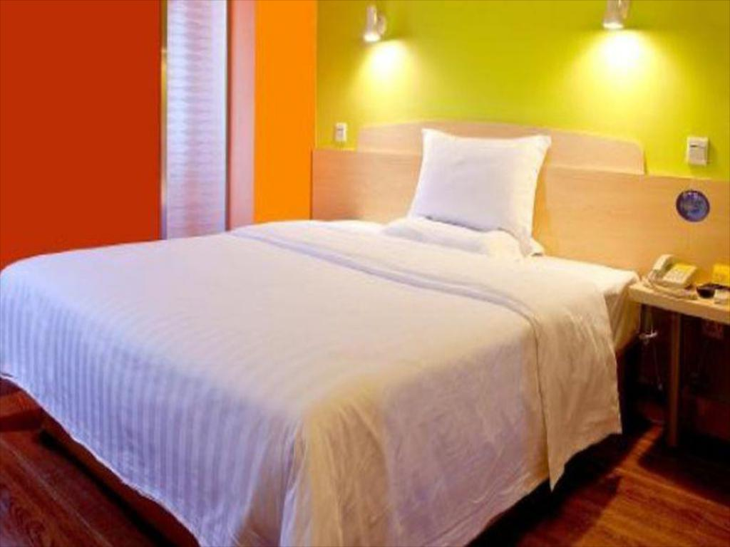 Quarto King - Somente residentes nacionais - Cama 7 Days Inn Qinhuangdao Olympic Center Branch