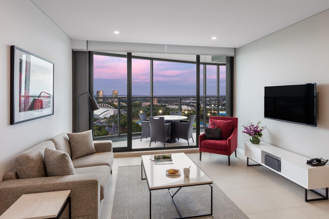 2 Bedroom City View Suite