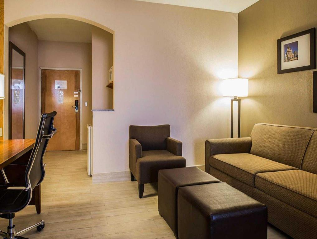 Standard with 1 King Bed - Lounge Comfort Suites Stafford