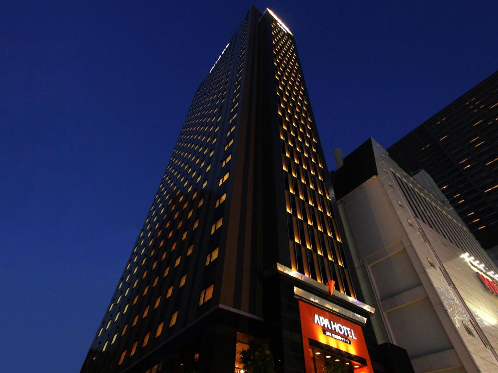 apa hotel shinjuku kabukicho tower in tokyo pictures. Black Bedroom Furniture Sets. Home Design Ideas