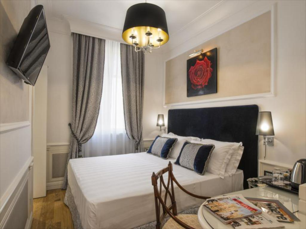 Cosy Room - Room plan The Britannia Hotel Rome
