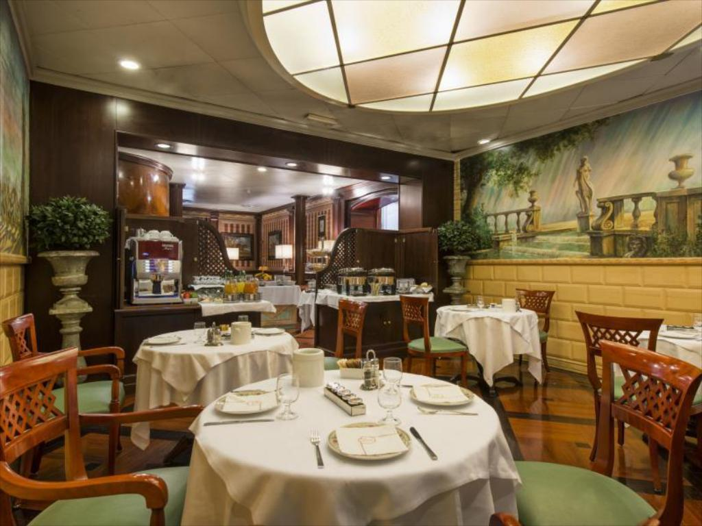 Interior view The Britannia Hotel Rome
