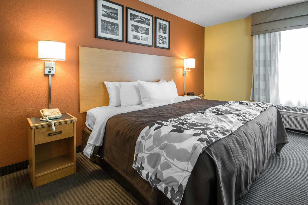 Standard Termasuk 1 Katil King - Katil Sleep Inn and Suites Sheboygan