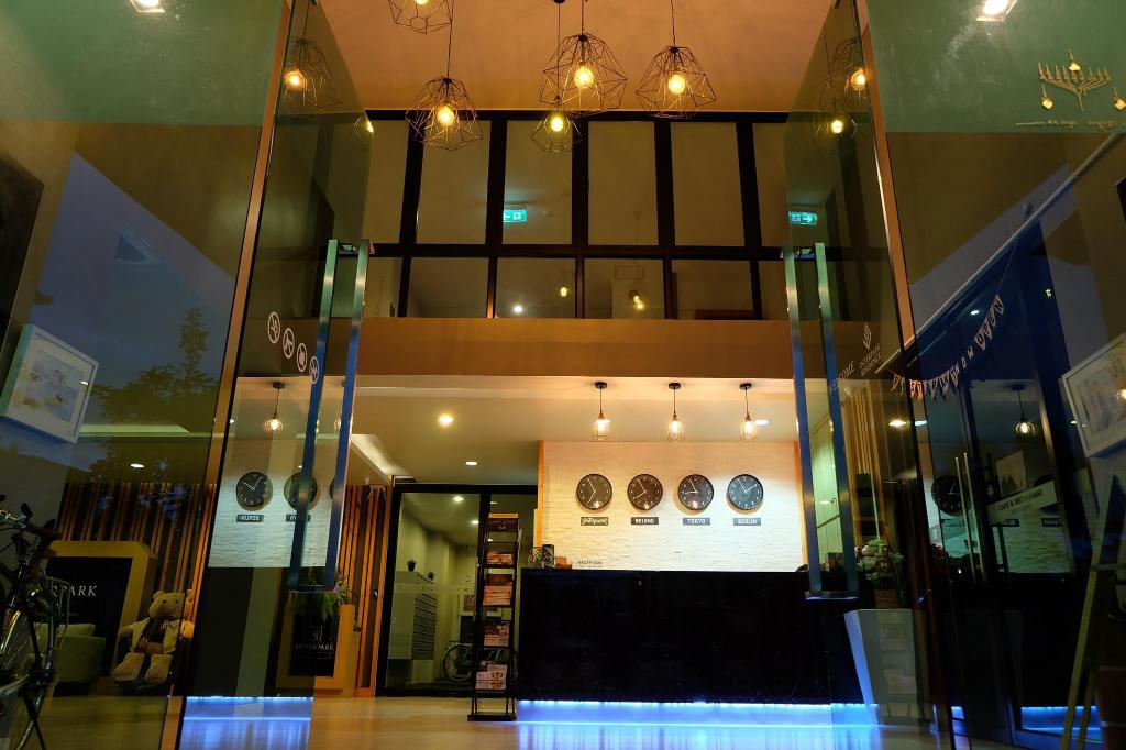 Vstupní hala Interpark Residence and Serviced Apartment Chonburi-Rayong