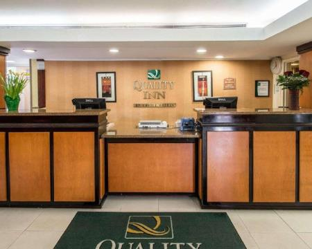 Lobby Quality Inn Miami Airport Hotel