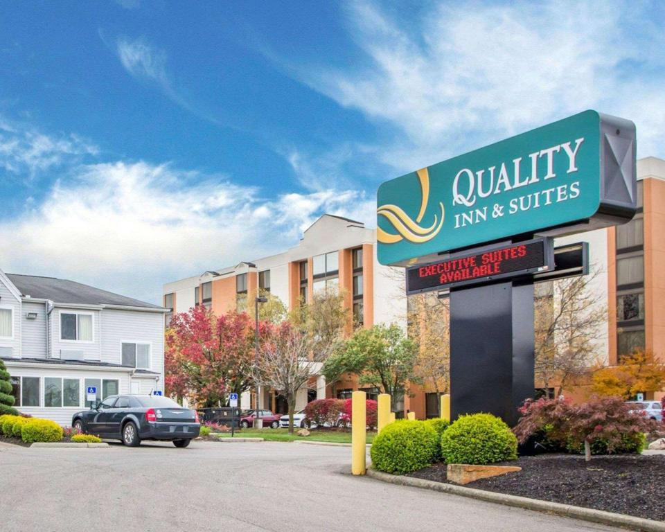 Viesnīcas āriene Quality Inn and Suites North/Polaris
