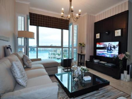Interior view Better Stay - Burj Residence Apartment