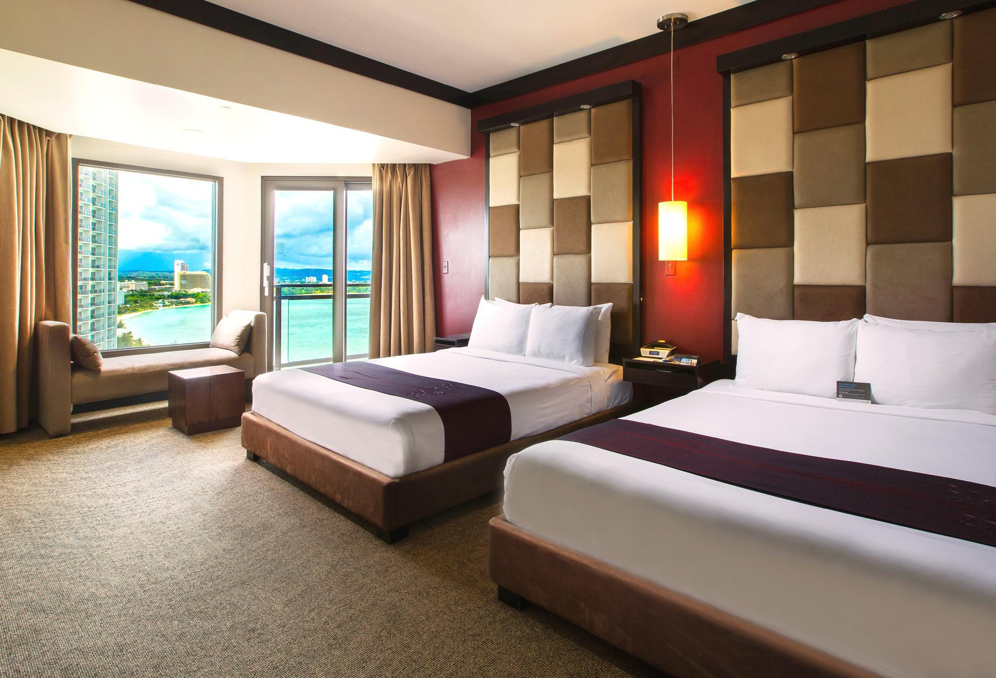 Club Ocean View Room with 2 Queen Beds