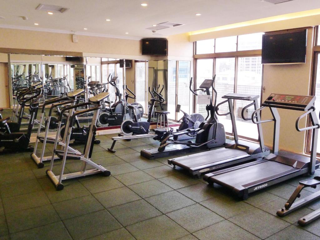 Fitness center HiONE Gallery Hotel Taichung