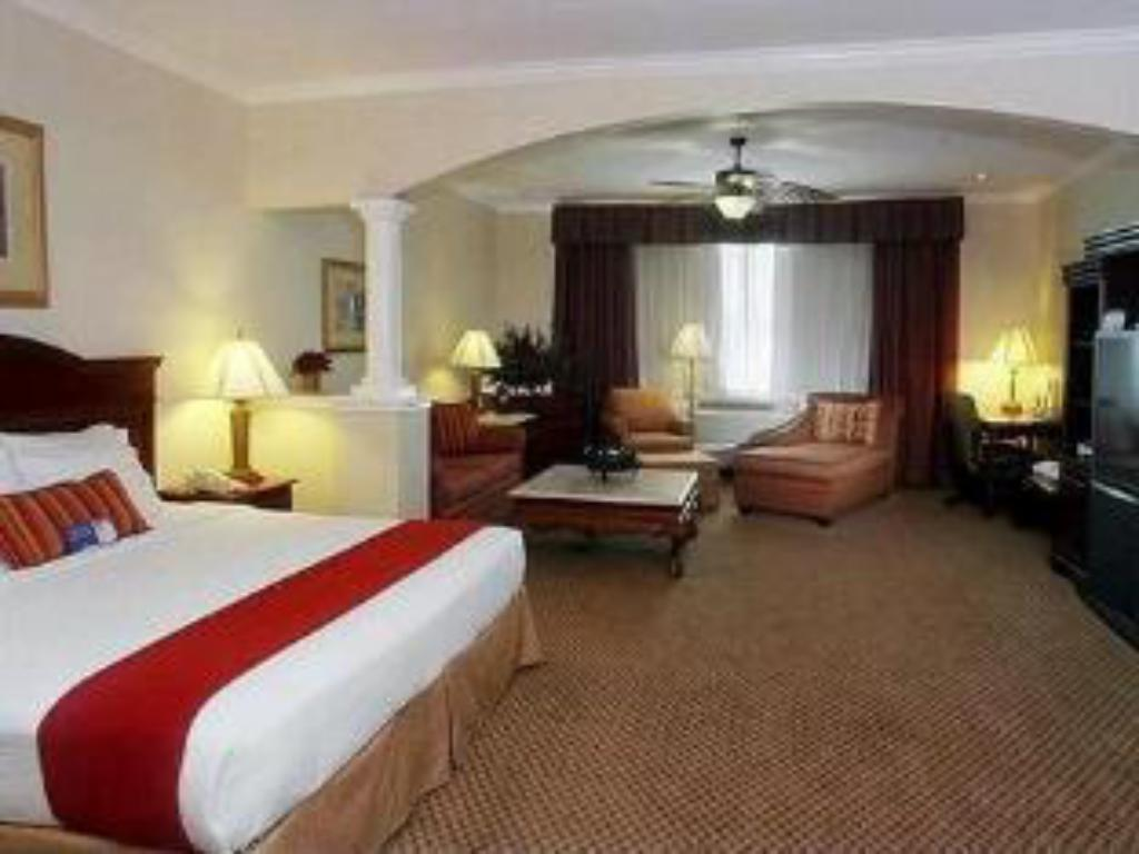1 King Bed Deluxe Suite Non-Smoking Holiday Inn Express Hotel and Suites Houston East