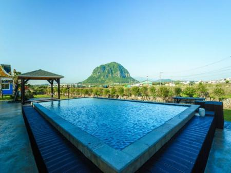 Swimming pool [outdoor] Monte View Stay Pension