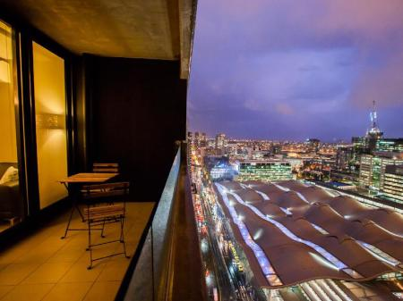 Balcony/terrace Southern Cross Serviced Apartments