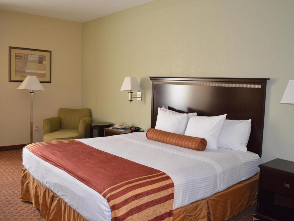 Habitació Extragran - Llit Best Western Plus North Houston Inn and Suites