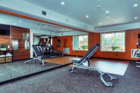 Fitnesa centrs Fairfield Inn & Suites Los Angeles Rosemead