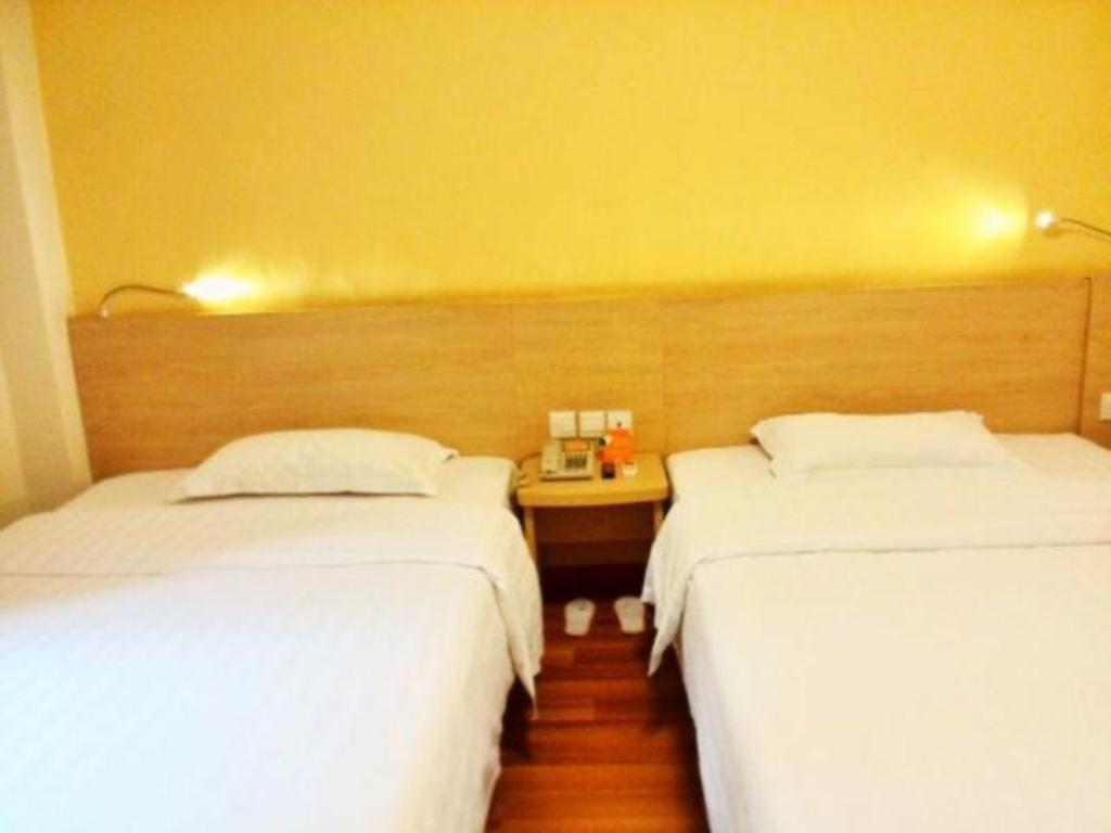 Twin Room - Domestic Residents Only 7 Days Inn Chenzhou Xinglong Walking Street Second Branch