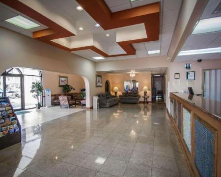 Empfangshalle Quality Inn and Suites Eastgate Kissimmee