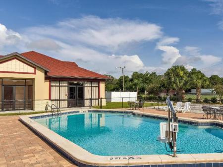 Schwimmbad Magnuson Hotel Kissimmee Maingate
