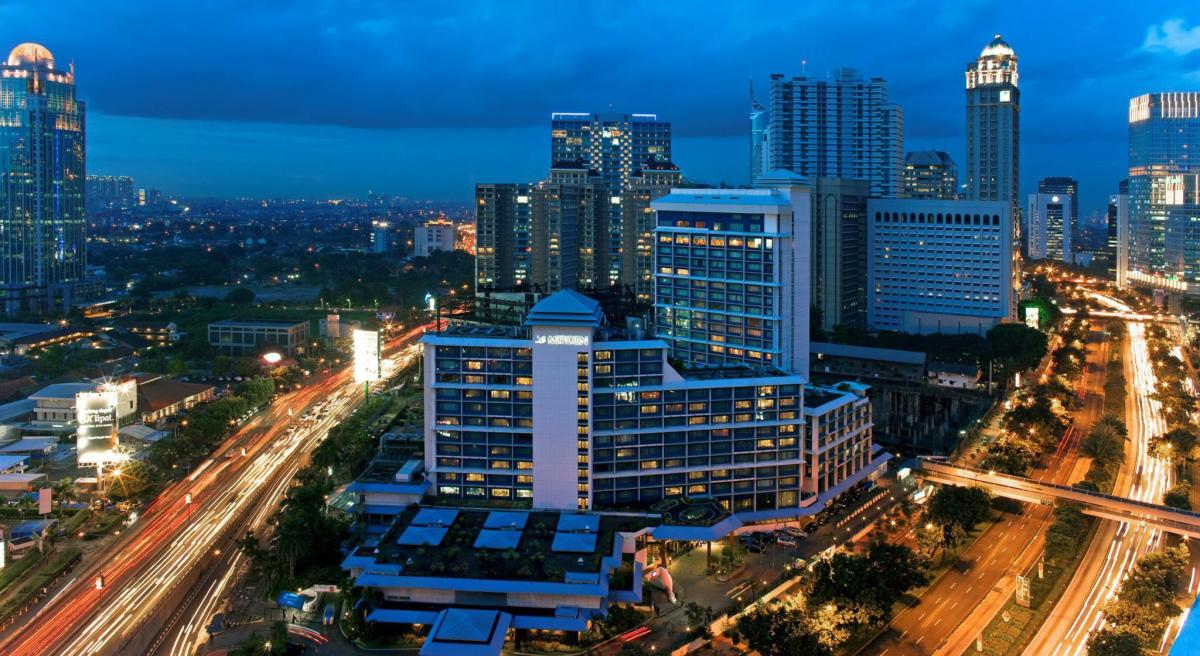 Le Méridien Jakarta in Indonesia - Room Deals, Photos & Reviews