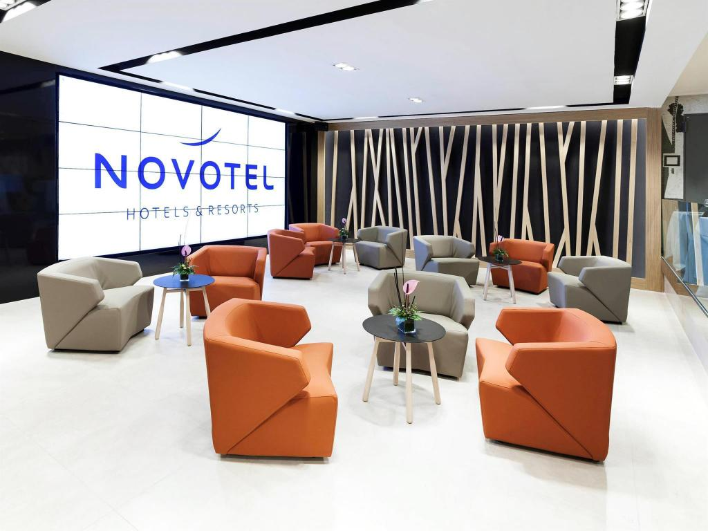 Lobby Novotel Madrid Center