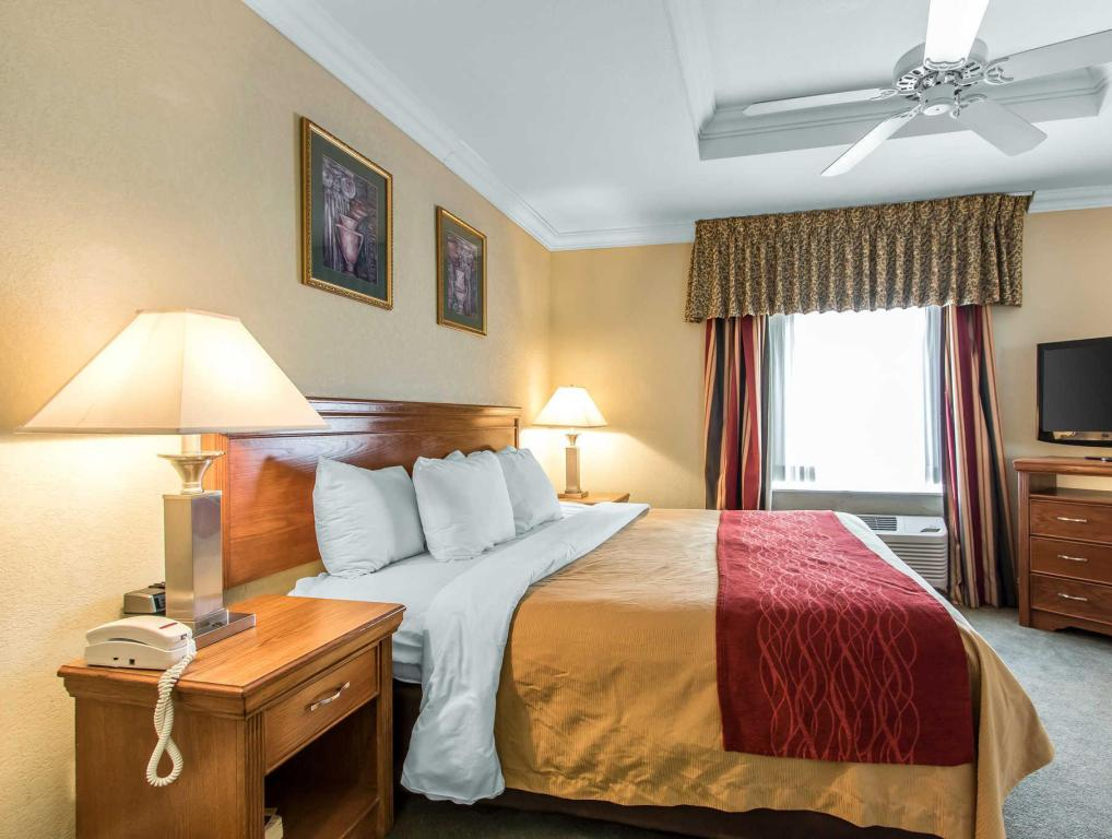 Suite mit 1 Schlafzimmer Comfort Inn at Founders Tower