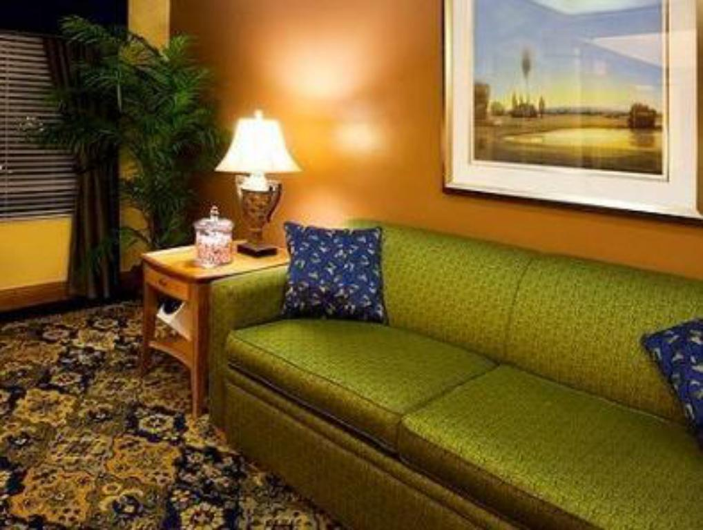 Vista Interior Holiday Inn Express Hotel & Suites Jacksonville-Blount Island