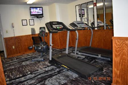 Fitnesa centrs Jacksonville Plaza Hotel and Suites