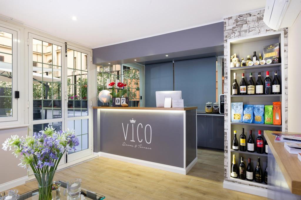 Lobby VICO Rooms and Terrace