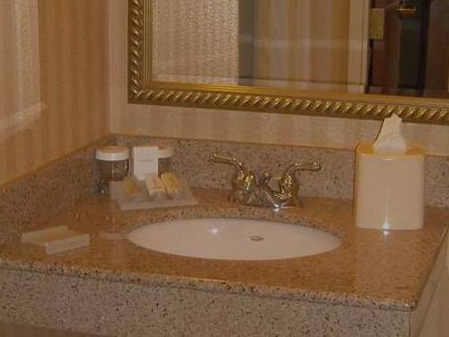 King Room   Bathroom Hilton Garden Inn Anchorage Hotel