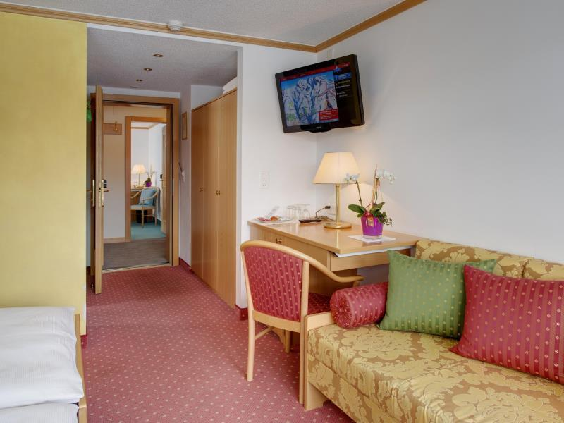 Superior Double or Twin Room with Matterhorn View