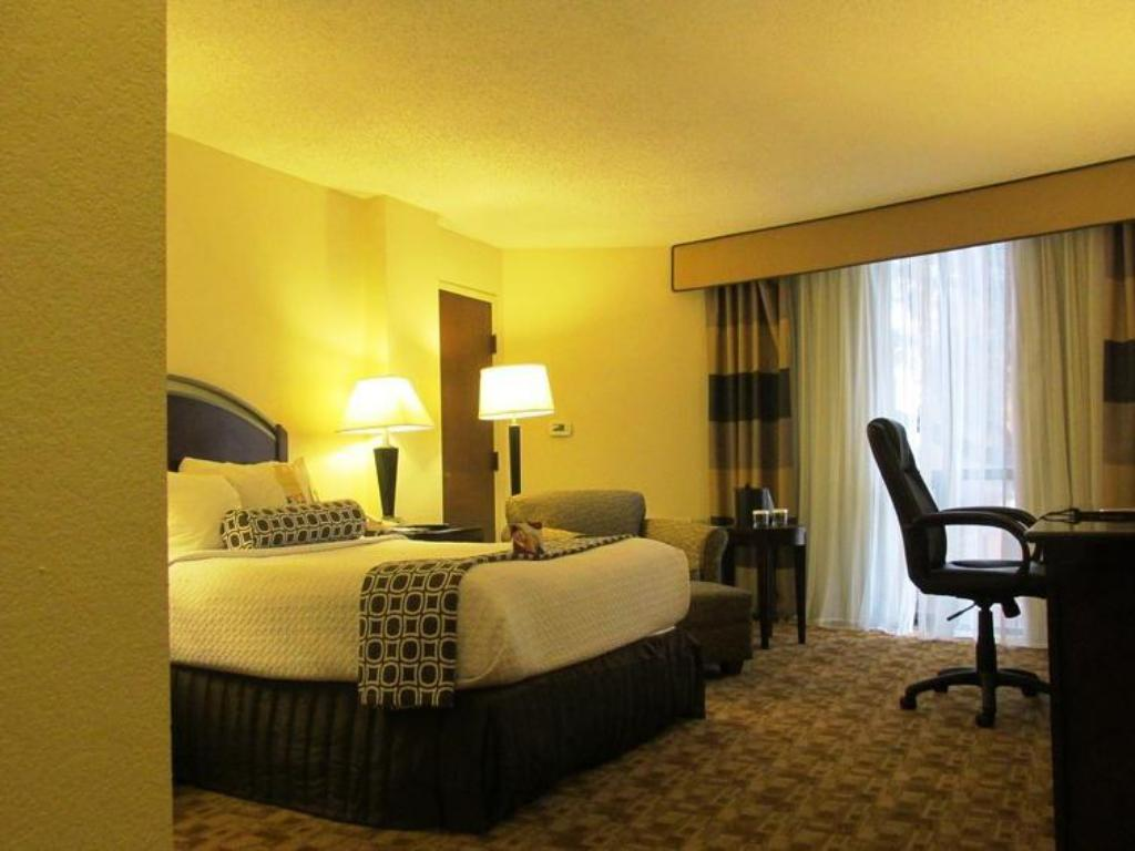 1 Full Size Bed Non-Smoking Crowne Plaza Hotel Austin