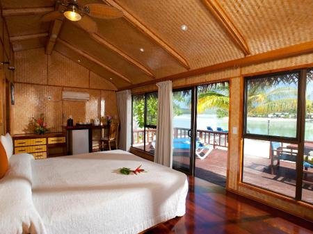 Bungalow ved havet  Aitutaki Lagoon Resort & Spa (Adults Only)