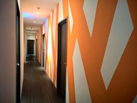 Interior view Orange Premier Hotel Wangsa Maju