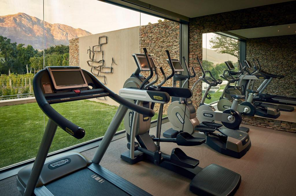 Fitness center Leeu Estates