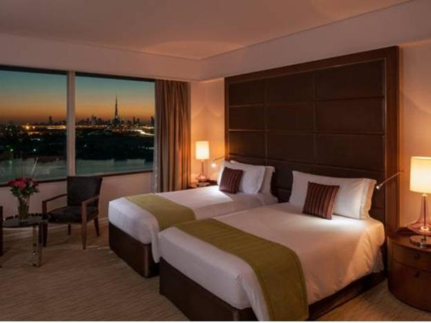 Two Single Beds Deluxe Dubai Creek View